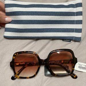 J crew oversized retro sunglasses